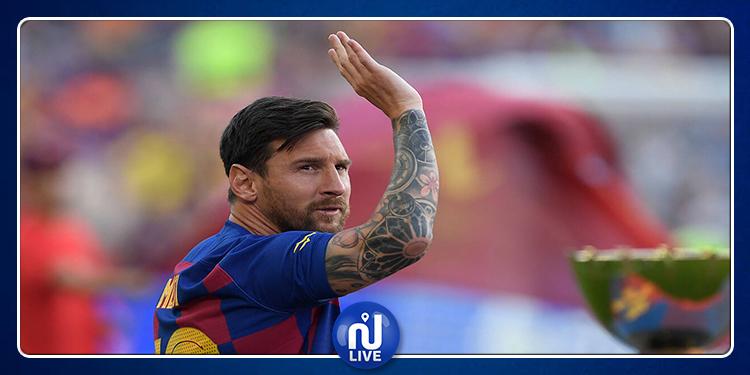 Barça : Messi inapte pour la première journée de la Liga
