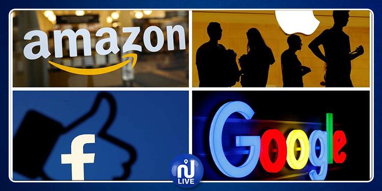 Une taxe numérique française imposéeà Google, Facebook et Amazon