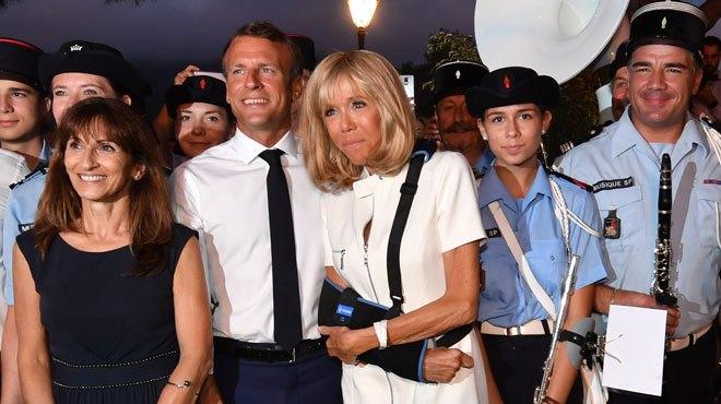 Les vacances de Brigitte Macron finissent mal !
