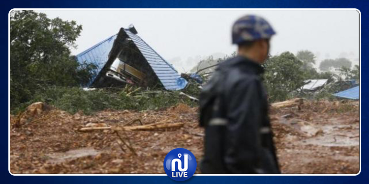 Myanmar: les glissements de terrains font 61 morts