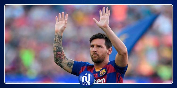 Lionel Messi reprend l'entraînement avec le groupe