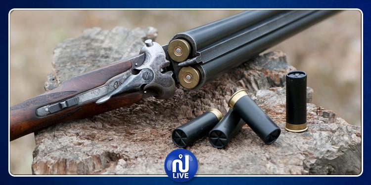 Kasserine: Saisie de 4 fusils de chasse sans permis
