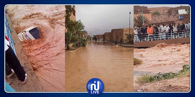 Algérie : plusieurs villes submergées par les eaux…(vidéo)