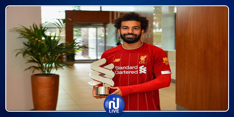 Liverpool : Mohamed Salah élu meilleur joueur du mois de août
