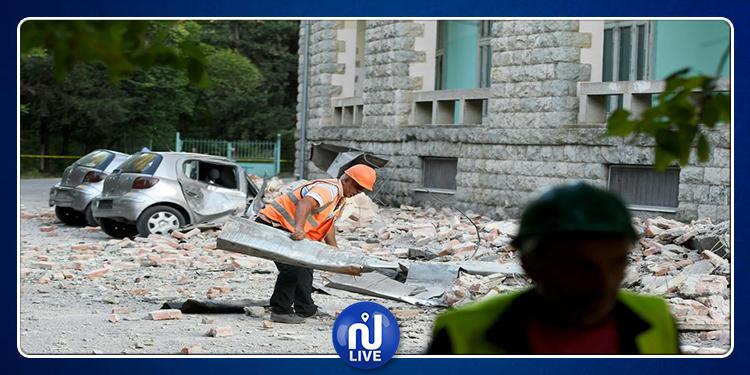 Un puissant tremblement de terre frappe l'Albanie