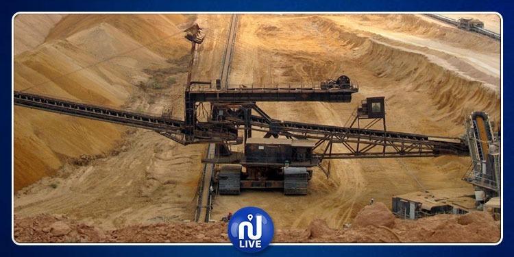 Baisse de 35% de la production de phosphate