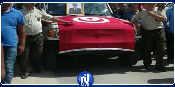 الكاف: تشييع جثمان الشهيد نجيب الشارني إلى مثواه الأخير (صور)