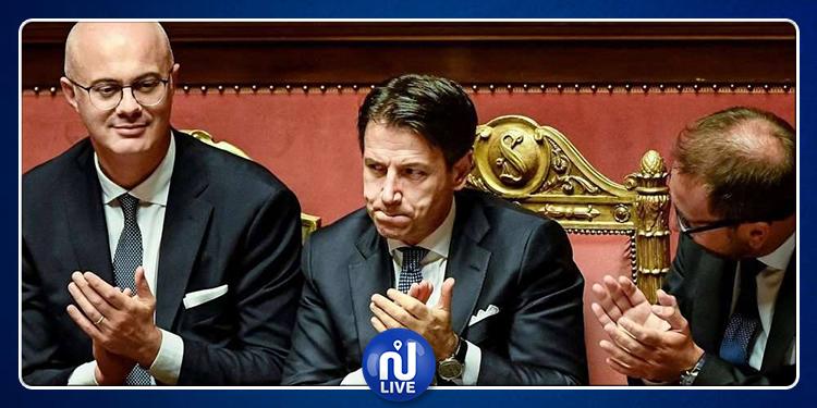 Le Premier ministre italien remporte son premier vote de confiance