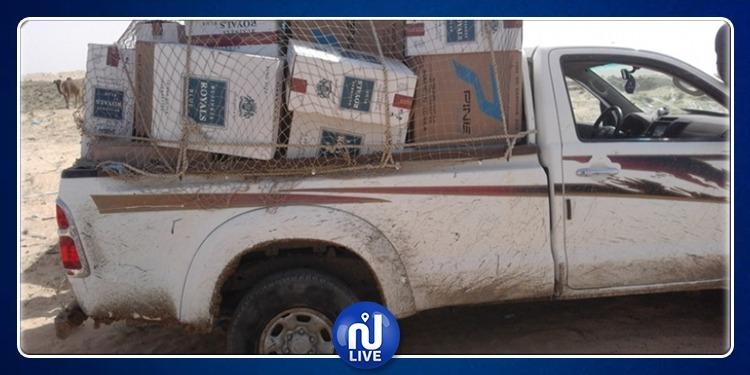 Saisie de plusieurs produits de contrebande d'une valeur estimée à trois millions de dinars