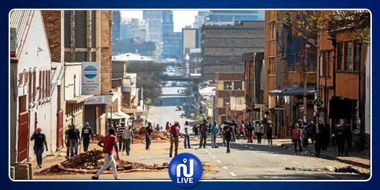 Afrique du Sud : les violences xénophobes sèment le chaos…