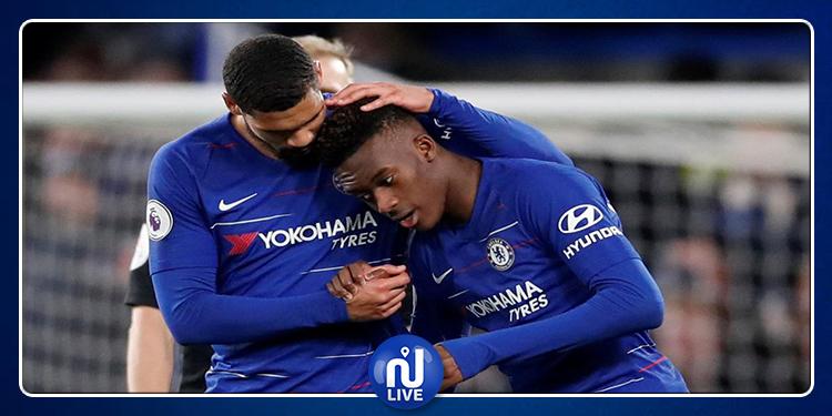 Officiel : Chelsea prolonge sa pépite  Hudson-Odoi