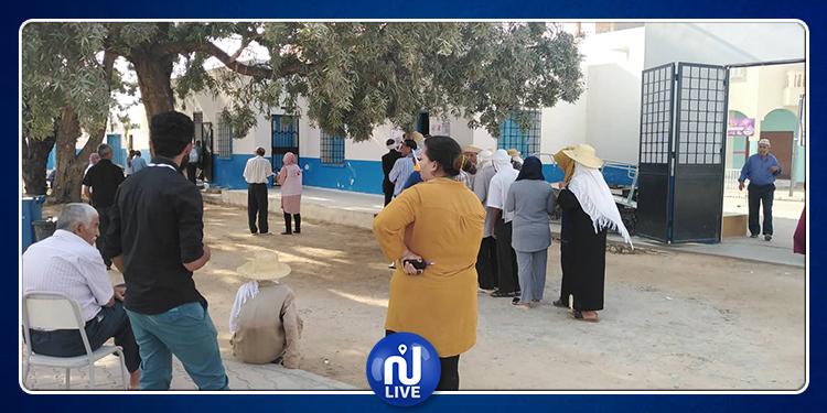 Sidi Bouzid :  affluence modeste dans certains bureaux de vote
