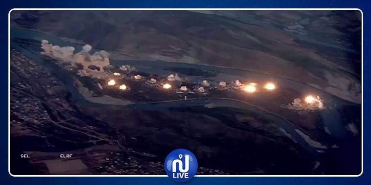 Les États-Unis larguent 36 tonnes de bombes sur une île irakienne
