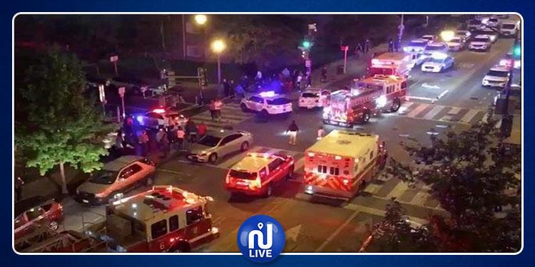 Fusillade à Washington: Au moins 1 mort et 5 blessés