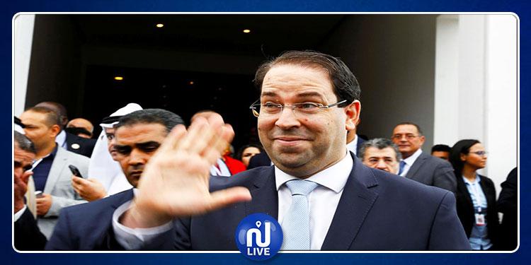 Youssef Chahed dégagé à Zaghouan (vidéo)