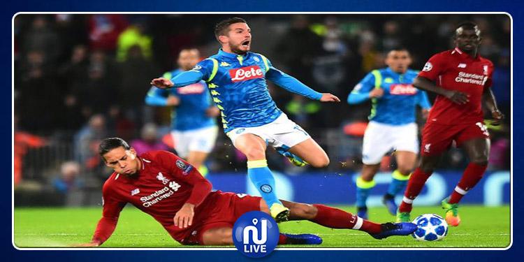 Ligue des Champions : Napoli entame la compétition par une victoire face à Liverpool