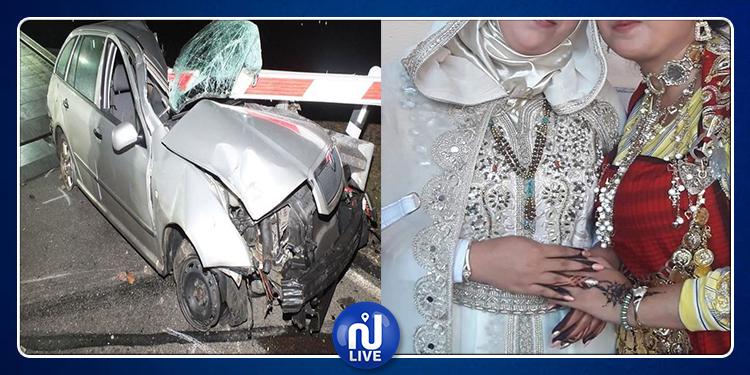 Enfidha: décès d'une mariée et de sa sœur après un accident