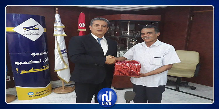 La Poste Tunisienne honore un citoyen…honnête  (Photos)