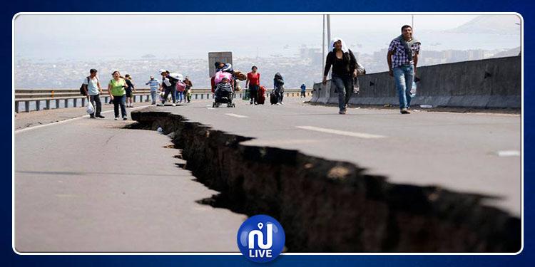 Un puissant séisme de magnitude 7,2 secoue la côte chilienne