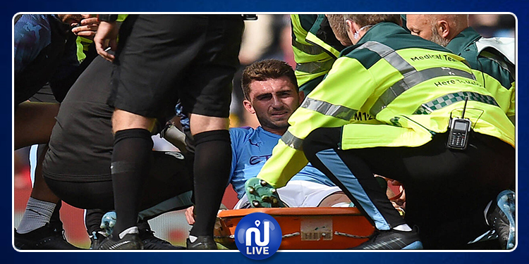 Manchester City: une absence de 4 mois pour Aymeric Laporte