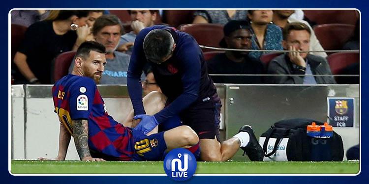 FC Barcelone : Messi pourrait manquer la rencontre de l'Inter Milan