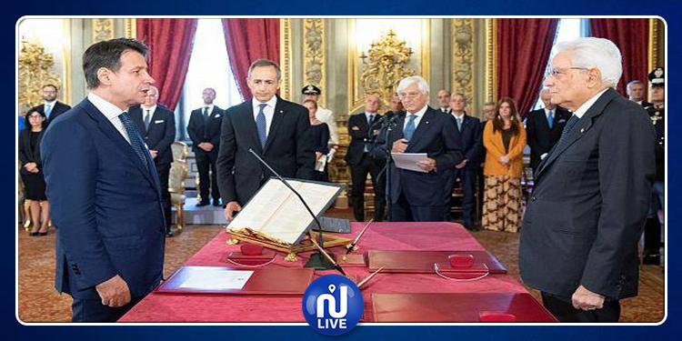 La coalition italienne pro-UE prête serment