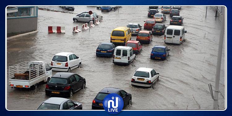 Algérie : des routes bloquées dans plusieurs villes suite aux inondations