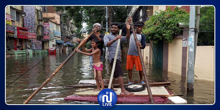 Inondations en Inde: le bilan s'alourdit