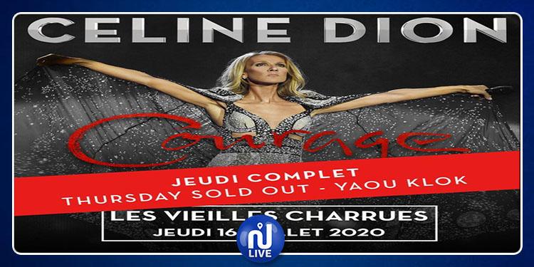 Céline Dion en France : 55.000 billets vendus en 9 minutes !