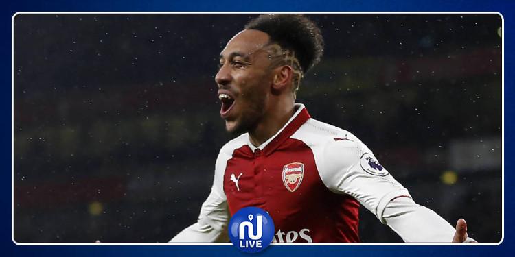 Premier League : des statistiques hallucinantes pour Aubameyang avec Arsenal