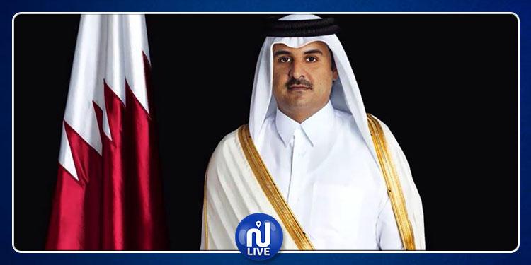 L'émir du Qatar félicite le président élu Kaîs Saied