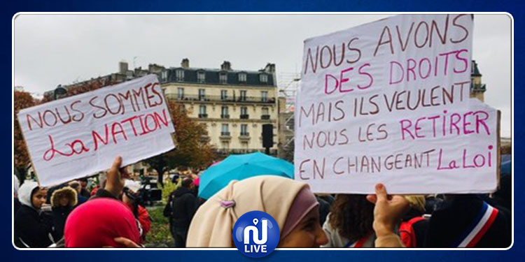À Paris, un rassemblement contre l'islamophobie