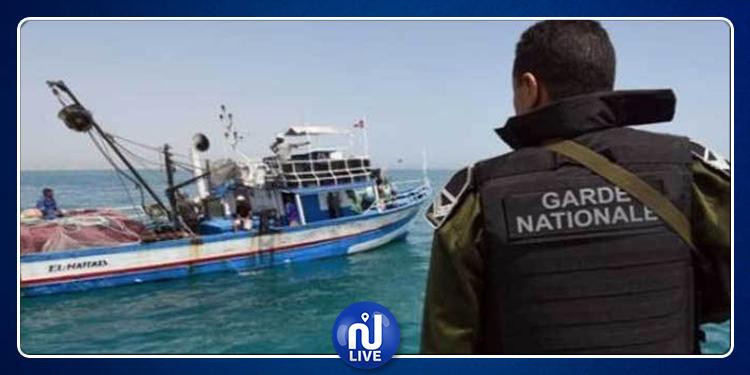 Sfax : Arrestation de 110 personnes à bord d'un navire de clandestins