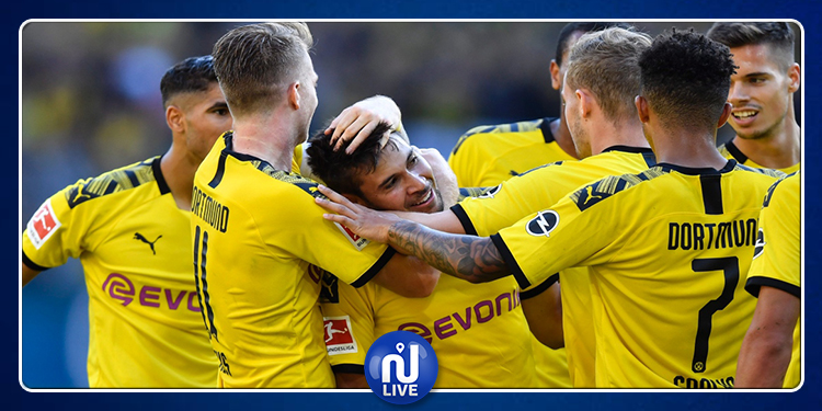 Bundesliga : Le Borussia Dortmund bat le leader