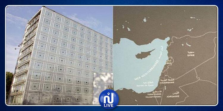 L'Institut du monde arabe barre Israël de sa carte