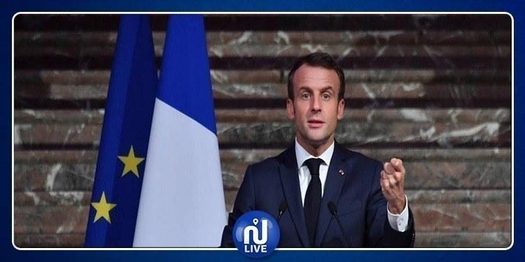 Macron s'entretient avec Kais Saied