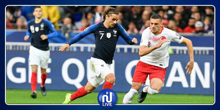 Qualifs Euro 2020 : la France et la Turquie Dos à dos