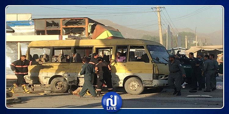 Afghanistan :  l'explosion d'un bus militaire fait au moins 10 morts