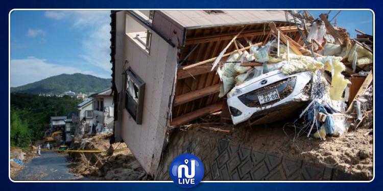 Inondations au Japon: Des morts et disparus