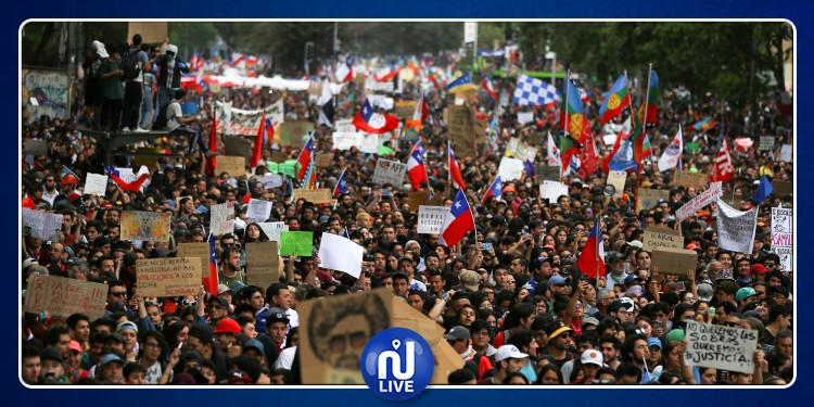 Rassemblement massif, le Chili se révolte… (Vidéo)