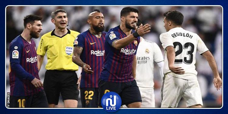 Le Clasico entre le Barça et le Real Madrid officiellement reporté