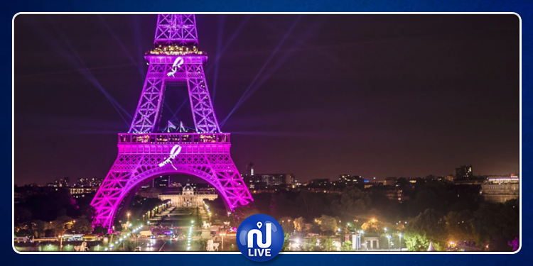 Paris rose, ce soir