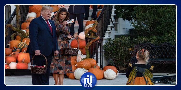 Les Trump fêtent Halloween à leur manière !