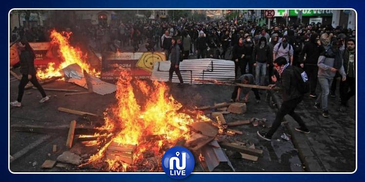 Chili : au moins 15 personnes tuées dans les manifestations