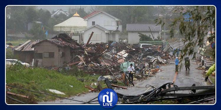 Japon : le typhon Hagibis fait au moins 19 morts et 1000 blessés