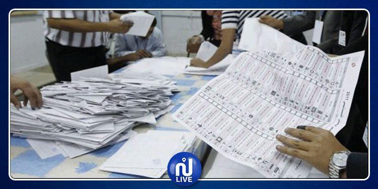 Législatives: Résultats préliminaires dans les circonscriptions de Kasserine, Sidi Bouzid, Gafsa et Tozeur
