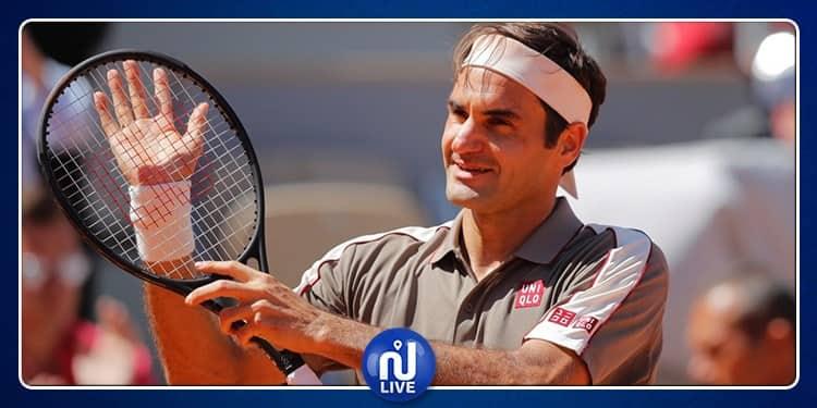Roger Federer arrache le 1500e victoire de sa carrière