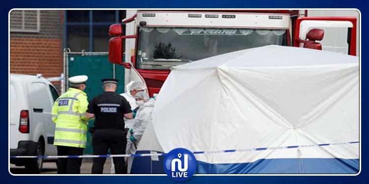 La nationalité des 39 morts retrouvés dans 1 camion frigorifique, révélée