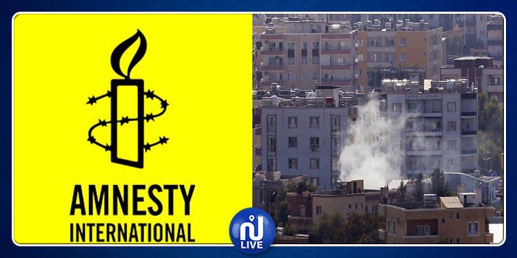 Amnesty International dénonce des ''crimes de guerre'' en Syrie
