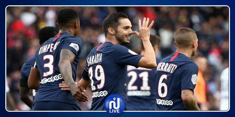 Ligue 1 : Le PSG bat l'OGC Nice